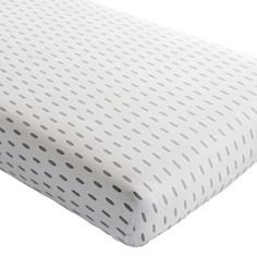 Iconic Crib Fitted  Sheet (Feather) | The Land of Nod