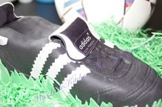 His favourite football boot - Cake by Birgit / My Little Kitchen Chaos