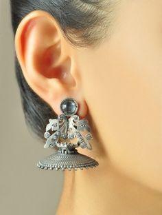 Gonzo Contemporary Jhumka Earrings