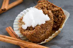 Keto Flaxseed Cinnamon Bun Muffins   Healthful Pursuit
