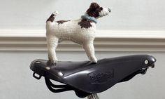 "Knit your own Jack Russell by Sally Muir & Jo Osborne: Free pattern from their book 'Best in Show: Knit your own dog"". #Knitting #Jack_Russelll #Sally_Muir #Jo_Osborne"