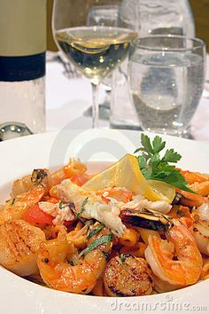 SEA FOOD PASTA #food #yummy +++Visit http://www.thatdiary.com/ for guide + advice on #lifestyle