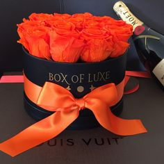 "Surprise your loved ones with a "" Box of Luxe "" flowers 👌🏻🌹❤️🙌🏻"