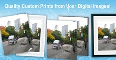 Your photo as a full size poster or print!  Best prices with no minimum quantity.  Easy online order.