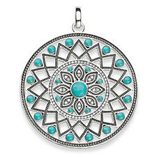 """pendant """"ethno amulet"""" from the Glam & Soul collection in the THOMAS SABO online store India Jewelry, Jewelry Shop, Jewelry Stores, Jewelry Accessories, Fine Jewelry, Pendant Jewelry, Fashion Jewelry, Thomas Sabo, Famous Jewelry Designers"""
