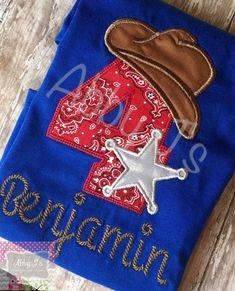 Camisa Western vaquero cumpleaños. Encargo hecho y