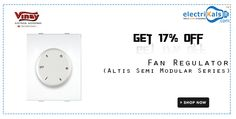 Check out the exclusive offers on #Vinay Fan Regulators | electrikals.com
