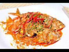 วิธีการทำฉู่ฉี่ปลาทูนึ่ง