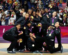 USA women win Gold in basketball 2012