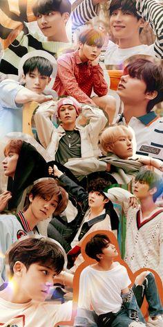 Seventeen Wallpaper Kpop, Seventeen Album, Carat Seventeen, Seventeen Memes, Mingyu Seventeen, Seventeen Wallpapers, Emoji, Harry Styles Poster, Cute Lockscreens