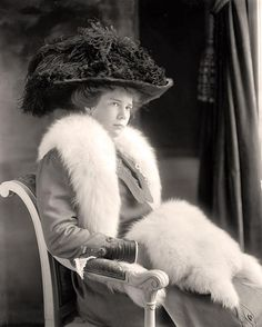photograph of Miss Ethel Roosevelt. It was made between 1905 and 1945 by Harris & Ewing.
