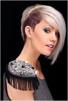 trendy blunt short haircuts