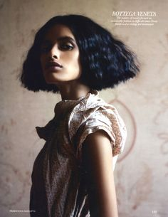 Lakshmi Menon photographed by Prabuddha Dasgupta for Vogue India.