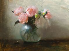 Reminds me of a Rose at my childhood home. Underpaintings: Sneak Peek: Jeremy Lipking at Arcadia Contemporary NYC December 12 - 31 John Singer Sargent, Still Life Flowers, Contemporary Paintings, Watercolor Paintings, Flower Paintings, Art Images, Flower Art, Amazing Art, Peonies