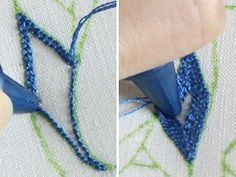 Punchneedle Tutorial - step by step easy to follow instructions for punchneedle embroidery, as well as recommendations for needles, etc. Questions answered in comments.