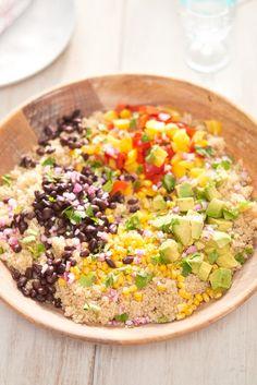 Recipe: Tex-Mex Quinoa Salad | Kitchn