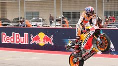 Welcome to Sport Theatre: Marquez extends MotoGP reign in Austin, Rossi cras...