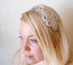 Annabelle II - Vintage Style Rhinestone Crystal Wedding Headband by Leelee's Bridal Accessories on Etsy on Etsy, £26.52