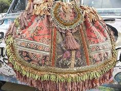 VERY-SPECIAL-Magnolia-Pearl-LARGE-Suitcase-Purse-Antique-Carpet-Bag-OOAK