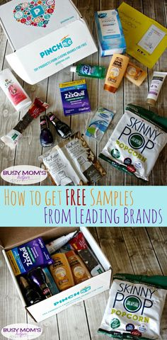 how to get free samples from leading brands by busymomshelpercom they want