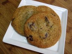 Dukan Diet Recipe Oat Bran Chocolate Chip Cookies