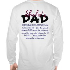 Cheer Dad Quotes | Cheer Dad Shirts Tshirt · 2012-13 jefferson