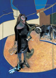 Portrait of Isabel Rawsthorne satnding in a street in Soho, 1967 by Francis Bacon (1909-1992)