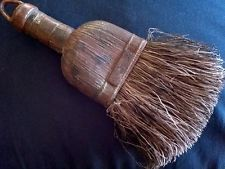 Small Primitive Old Vintage Whisk Broom Hearth sweeper PLASTIC