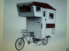 Awesome home on wheels...bike style.