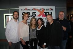 The XTU Gang With Sheryl Crow At Celebration Luncheon On 925