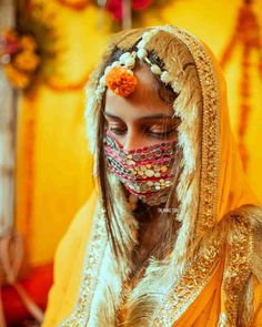Top 10 Ready To Wear Designer Mask Brands For Indian Wedding Guests ! - Witty Vows Masked Man, The New Normal, Beautiful Mask, Pretty Pastel, Pearl Studs, Bridal Looks, Designer Wear, Bridal Accessories, Wedding Season