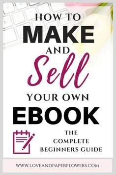 Learning how to write an eBook and make money will ensure you earn passive income for years to come. In this step by step guide you will learn the entire process of how to create an eBook, how to launch an eBook, and how to promote it. Make Money Writing, Make Money Blogging, Way To Make Money, Make Money Online, Money Fast, Importance Of Time Management, Book Writing Tips, Writing Humor, Book Writer