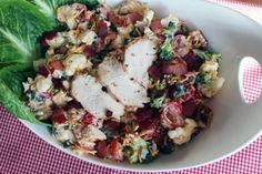 Peggi's Chicken-Bacon Ranch Salad
