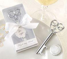 """Simply Elegant"" Key To My Heart Bottle Opener"