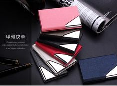 Cheap id card holder, Buy Quality credit id cards holder directly from China card case Suppliers: QOONG Rfid Travel Card Wallet Leather Men Women Waterproof Credit ID Card Holder Card Case Metal Wallet Cardholder Carteira Handmade Leather Wallet, Leather Card Wallet, Purse Holder, Id Holder, Travel Cards, Business Card Case, Passport Cover, Designer Clothes For Men, Leather Men