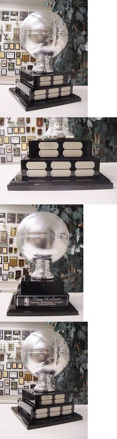 Other Basketball 2023: 2 Tier Large Fantasy Basketball Perpetual Award 20 Years Top Of The Line Silver -> BUY IT NOW ONLY: $190.25 on eBay!