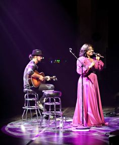 """""""I had gotten only a few hours of sleep before last Friday's Columbia , MD performance with Sam Smith, who requested that I open for him for the second time this year."""" Jazmine Sullivan shares what it's like to open for Sam Smith, from makeup to the stage."""