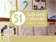 51 Advent Calendar Craft Ideas
