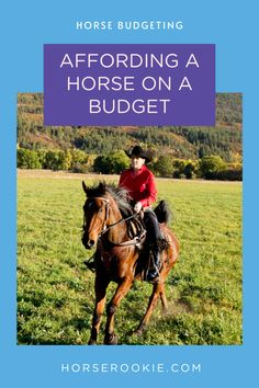Horses can be very expensive and it is important to have a budget to keep your finances in check. Here is how you can horseback ride on a budget. Trust Fund, Show Horses, Horseback Riding, Equestrian, Budgeting, Finance, Lifestyle, Check, Animals