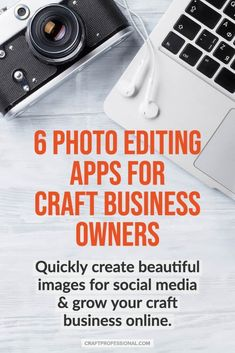 Affordable & easy photo editing apps for craft business owners. Quickly create graphics for social media & grow your handmade business online. Etsy Business, Business Help, Craft Business, Online Business, Selling Crafts Online, Craft Online, Product Photography, Digital Photography, Editing Apps