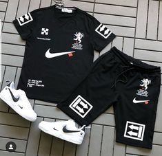 Summer Swag Outfits, Summertime Outfits, Swag Outfits Men, Nike Outfits, Hype Clothing, Mens Clothing Styles, Two Peice Outfit, Moda Nike, Nike Clothes Mens