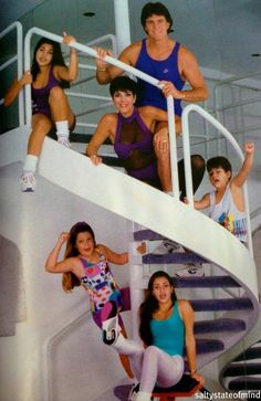the Kardashians old school - Kris no wonder your daughters boobs are always out...nice role modeling?