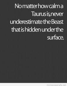 Taurus saying