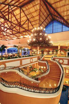The lobby of Dreams Punta Cana Resort & Spa