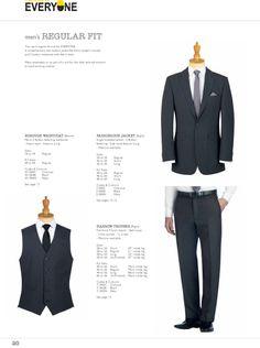 Borough Waistcoat, Farringdon Jacket and Harrow Trouser. #workuniformsdirect #uniform #corporate #business #fashion