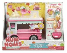 Num Noms Series 2 Lip Gloss Truck Playset by MGA Entertainment - #542360