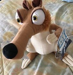 Scrat the Saber Toothed Squirrel Ice Age Movie continental d 12in Plush Animal - http://hobbies-toys.goshoppins.com/tv-movie-character-toys/scrat-the-saber-toothed-squirrel-ice-age-movie-continental-d-12in-plush-animal/