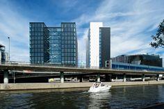 Waterfront. White Arkitekter. Glaspartier Schüco, levererade av Flex Fasader. Foto: Magnus Östh