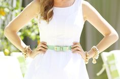 Marika from A Golden White Decor in Lilly Pulitzer Spring '13 Athea Dress @Golden Girls