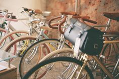 Beautiful bicycles.